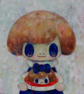TOMOKO 4A. salome-with-blue-eyes-2014-oil-on-the-canvas-54x60cm